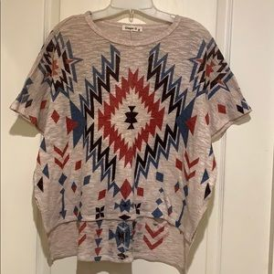 Southwest style women's top blouse by Ginger G